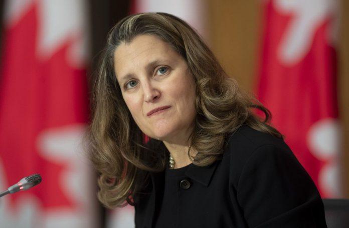 Coronavirus Canada Updates: Chrystia Freeland reports negative COVID-19 test