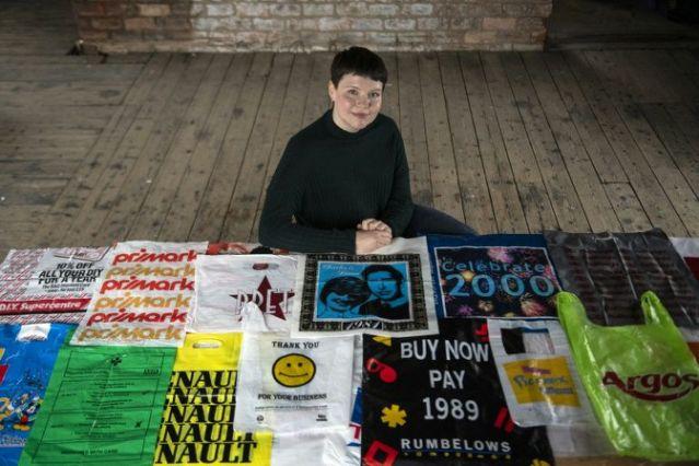 Glasgow artist launches plastic bag museum (Photo)