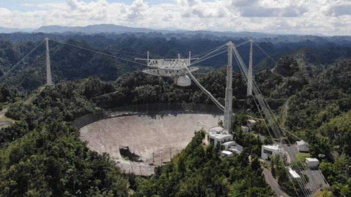 Iconic telescope at Arecibo will be scrapped