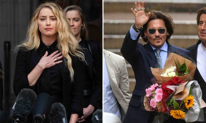 Johnny Depp's Fans Attack Amber Heard On Twitter, Report