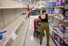 Panic buying of toilet paper hits US stores again, Report