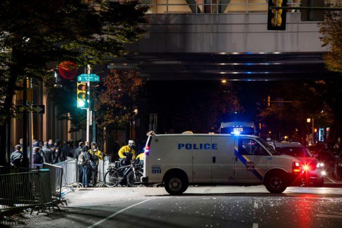 Police probe alleged plot to attack vote counting venue in Philadelphia, Pennsylvania