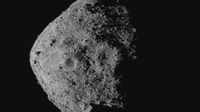 Report: two pounds of asteroid are headed back to Earth