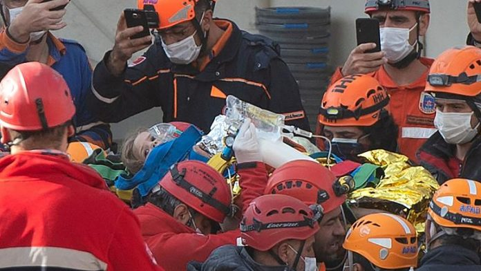 Turkey: Little girl rescued 91 hours after quake, Report