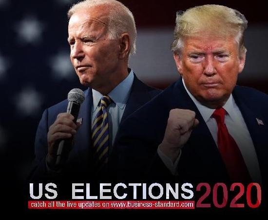 US Election Results 2020 LIVE: Joe Biden says he's on track to 'win this election'