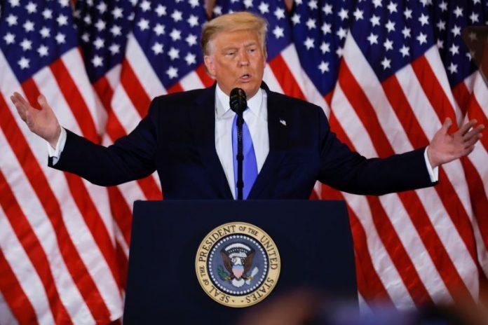 US Election Results 2020 LIVE: Trump declares premature victory