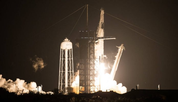 Watch: 4 astronauts successfully launched into space from Cape Canaveral