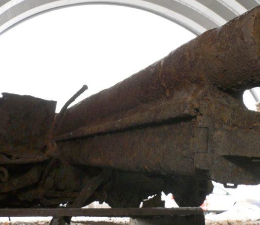 German cannon from WW I found underneath Amherstburg ballpark (Photo)