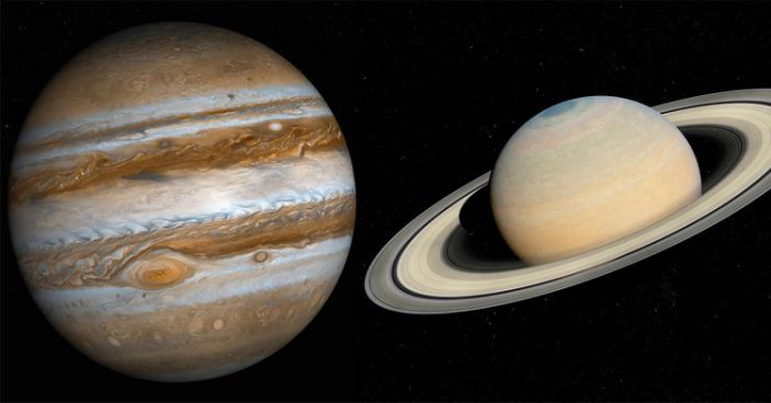 Jupiter, Saturn to form double planet on December 21, Report