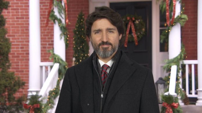 Justin Trudeau Christmas message focuses on the bright side