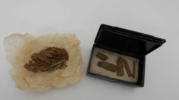 Lost artefact from Great Pyramid found in cigar tin, Report