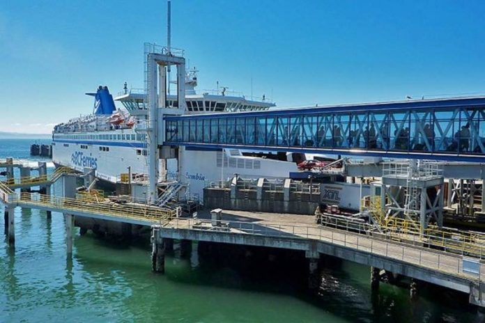 Man in critical condition after vehicle falls at Tsawwassen Ferry Terminal, Report