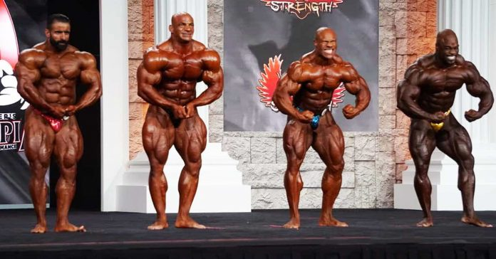 Mr Olympia 2020 Final Results: Pre-Judging Callout Report
