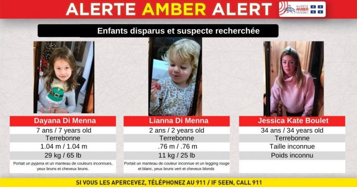 Quebec Amber Alert over, girls found safe and sound, Report