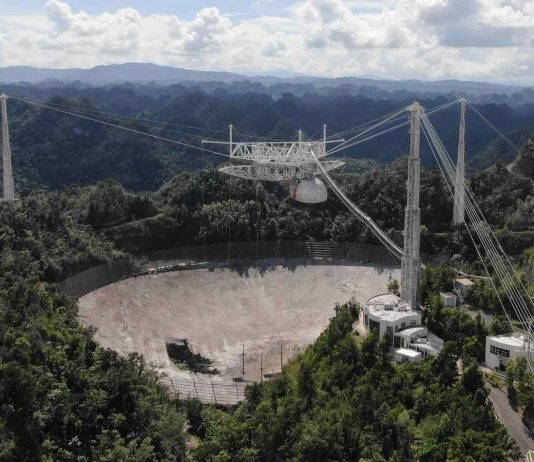 Watch: Arecibo Observatory Telescope Collapses, Ending Era Of World-Class Research
