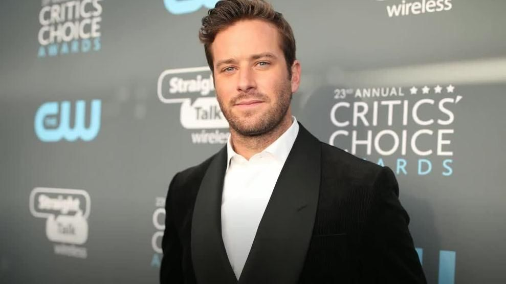 Armie Hammer says social media claims are