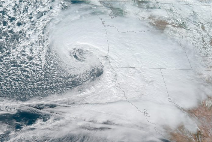 Bomb cyclone in northern Pacific Ocean breaks all-time records, Report