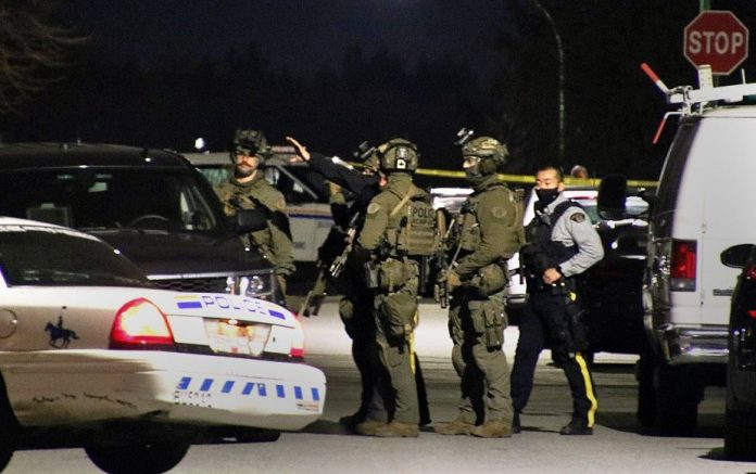 Burnaby standoff ends with tear gas deployed, Report