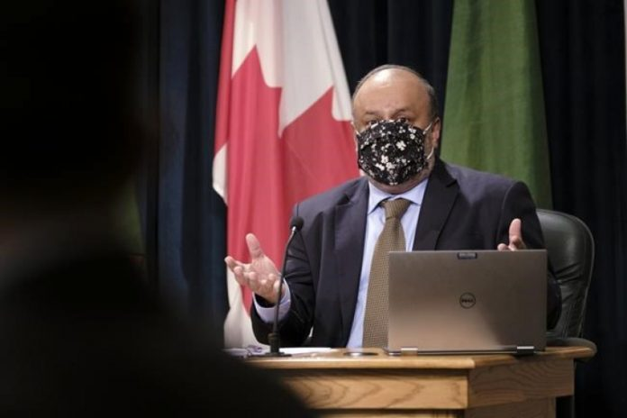 Coronavirus Canada Updates: Doctors group condemns protest at home of Saskatchewan chief medical health officer