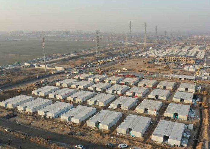 Coronavirus quarantine center near completion in Shijiazhuang, N China