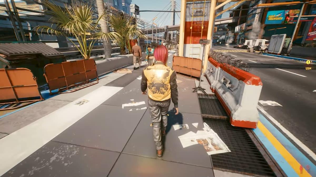 Cyberpunk 2077 Gets a Third-Person PC Mod