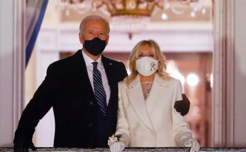 How Jill Biden's white corsage honored a tradition of past first ladies (Photo)