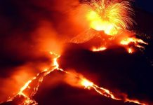 Italy's Mount Etna erupts, turns into dangerous beauty (Video)