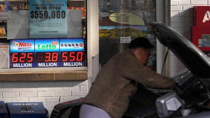 JAN. 12: Mega Millions winning numbers for Tuesday's $625M jackpot
