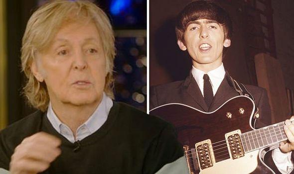 Paul McCartney talks to tree that is 'spirit of George Harrison', Report