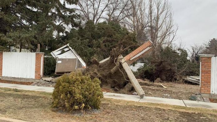 Peak wind gust hits 145 km/h in southern Alberta, 9 all-time records set, Report