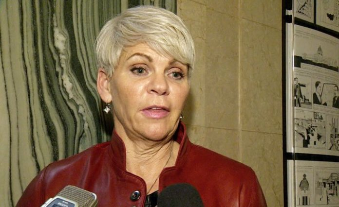 Petition delivered to Minister Christine Tell calling for her resignation, Report