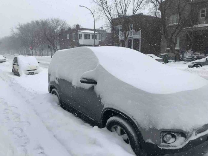 Special weather statement: Up to 30 cm of snow is expected this weekend across Quebec