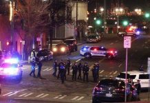 Tacoma cop drives through crowd, leaving at least 1 person injured, officials say