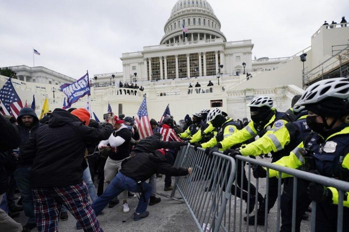 Two Capitol Hill buildings evacuated as Trump supporters protest (Watch)