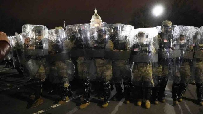 Two Seattle officers placed on leave in probe into Capitol mob