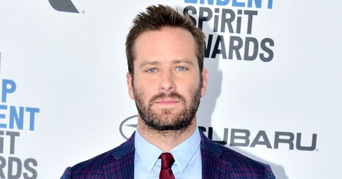 Armie Hammer Dropped by Agency Amid Scandal, Report