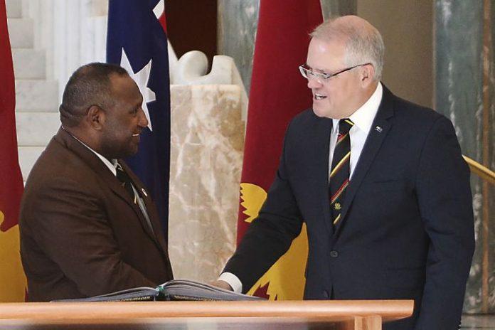 Australian leader dismisses reports of China-built city, Report