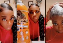 'Gorilla Glue Girl' who accidentally stuck her hair to her head ends up in hospital (Video)