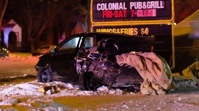 Man, 21, charged with impaired and dangerous driving after colliding with two cars (Police)