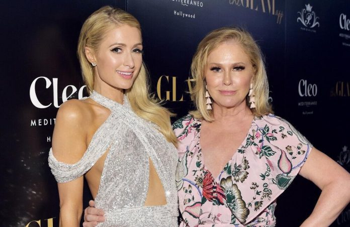 Star Paris Hilton Doesn't Know What To Think About Mom Kathy Hilton Joining