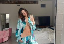 Emily Ratajkowski boasts a spectacular figure a few days after being a mother (Picture)