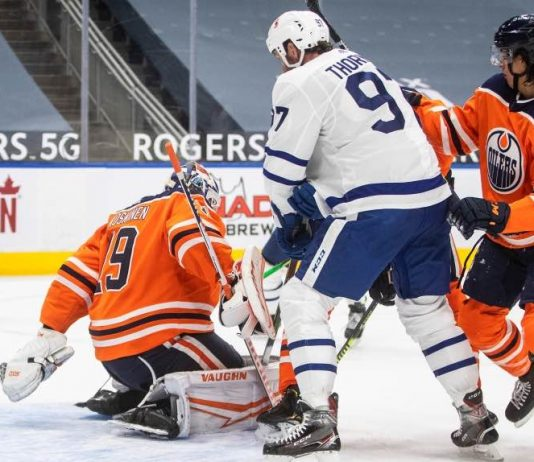 NHL: Results of the Toronto Maple Leafs vs. Edmonton Oilers Series