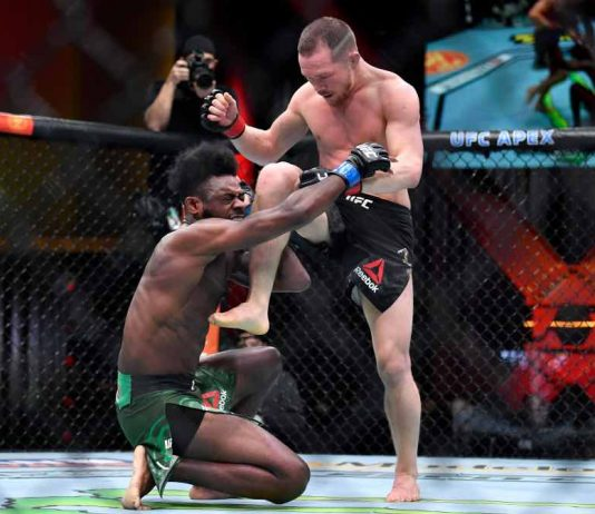 UFC 259 Results: Petr Yan loses title by DQ after crazy illegal knee on Aljamain Sterling