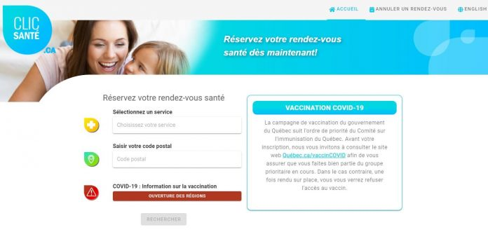 Clic Sante Covid Vaccine: How to make an appointment to get vaccinated against COVID-19