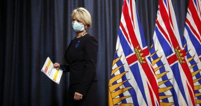 Coronavirus: B.C. reports 1,068 new COVID-19 cases and three deaths