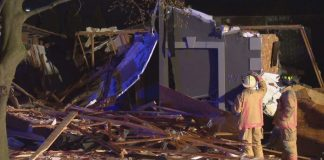 House on Hamilton's west mountain destroyed after explosion, no injuries reported