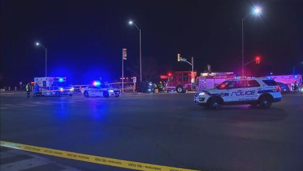 One dead, Three injured following 2-vehicle collision in Brampton