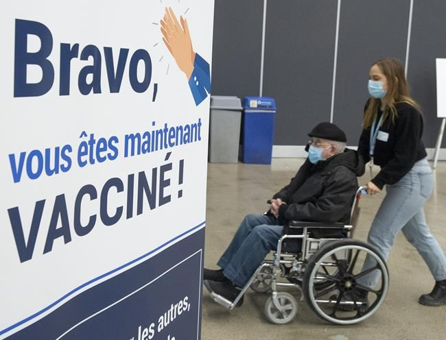Quebec opens covid vaccine registration to people with chronic illnesses, disabilities