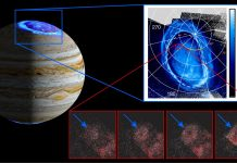 Researchers discover a new auroral feature on Jupiter