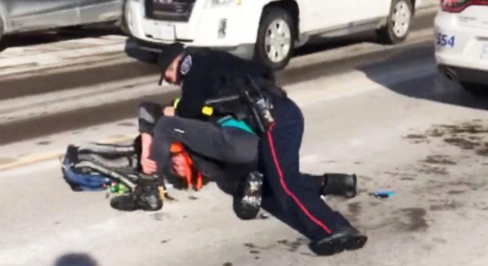Watch: Barrie police officer charged after violent arrest captured on video
